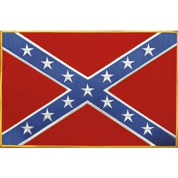 Confederate Flag Patch / SKU USA-PAT-B103-DL