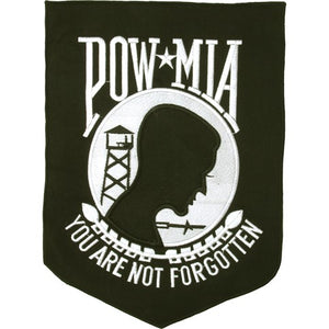 POW MIA - You Are Not Forgotten Patch / SKU USA-PAT-B104-DL - USA Biker Leather