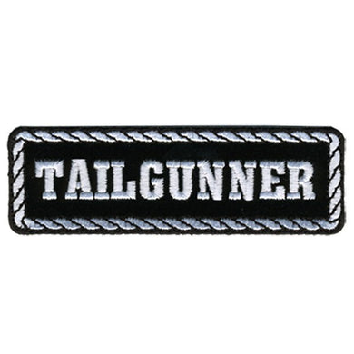 Tailgunner Motorcycle Biker Vest Patch - SKU USA-PPD1013-HI - USA Biker Leather