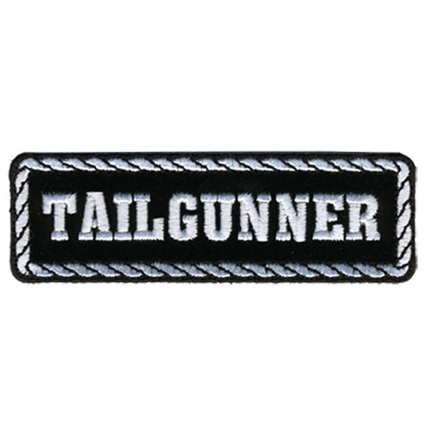 Tailgunner Motorcycle Biker Vest Patch - SKU USA-PPD1013-HI