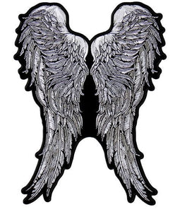 Angel Wings Vest Patch - SKU USA-PPA8273-HI - USA Biker Leather