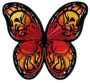 Colorful Butterfly Vest Patch - SKU USA-PPA8320-HI - USA Biker Leather