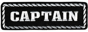 Captain Vest Patch - SKU USA-PPD1010-HI