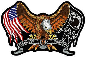All Gave Some - Some Gave All Patch - Small - SKU USA-PPA1860-HI