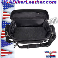 Motorcycle Sissy Bar Bag / SKU USA-SB13-DL - USA Biker Leather - 4