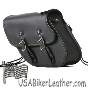 PVC Motorcycle Solo Swing Arm Bag - SKU USA-SD4097-SOLO-DL