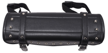Studded PVC Motorcycle Tool Bag - Fork Bag 10 or 12 Inch - SKU USA-TB3033-DL