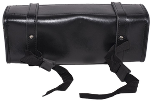Black and Brown PVC Motorcycle Tool Bag - Fork Bag 10 or 12 Inch -SKU USA-TB3041-DL