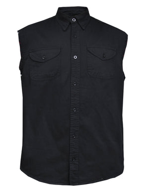 UNIK Men's Sleeveless Denim Shirt