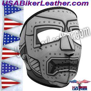 Alloy Agent Full Face Neoprene Mask / SKU USA-WNFM107-HI - USA Biker Leather