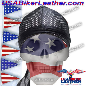 Perforated Doo-Rag / SKU USA-AC8-DL - USA Biker Leather - 1