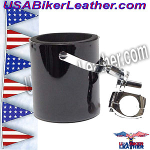 Motorcycle Cup Holders / Choice of Colors / SKU USA-CUP4-DL - USA Biker Leather - 5