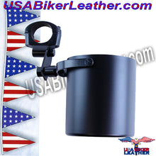 Motorcycle Cup Holders / Choice of Colors / SKU USA-CUP4-DL - USA Biker Leather - 3