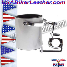 Motorcycle Cup Holders / Choice of Colors / SKU USA-CUP4-DL - USA Biker Leather - 4
