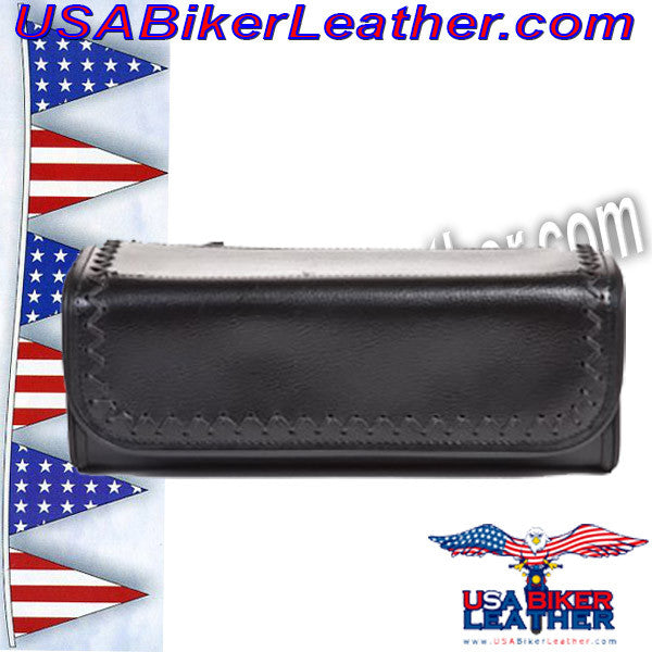 Motorcycle Tool Fork Bag / SKU USA-TB3005-12-DL - USA Biker Leather