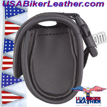 Motorcycle Windshield Bag / SKU USA-WS10-DL - USA Biker Leather - 3