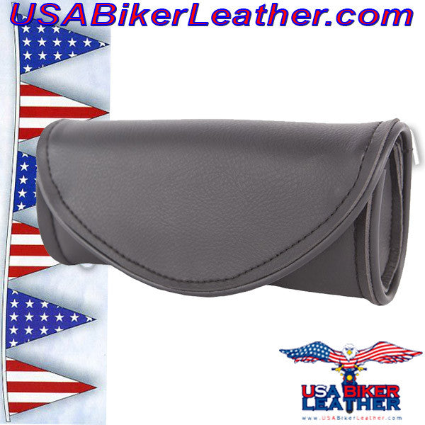 Motorcycle Windshield Bag / SKU USA-WS10-DL - USA Biker Leather - 1