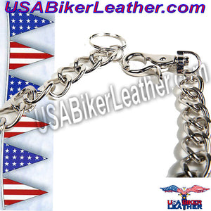 Link Chain for a Chain Wallet / USA-WTC3-DL - USA Biker Leather - 2