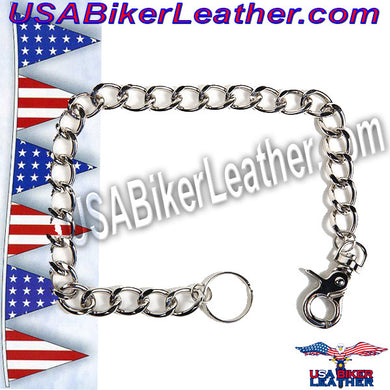 Link Chain for a Chain Wallet / USA-WTC3-DL - USA Biker Leather