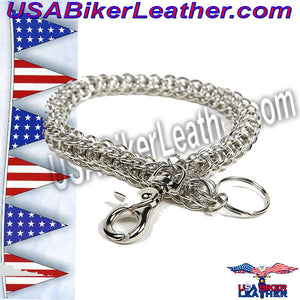 Wallet Chain for Biker Wallets / SKU USA-WTC4-DL - USA Biker Leather - 2