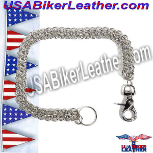 Wallet Chain for Biker Wallets / SKU USA-WTC4-DL - USA Biker Leather - 1