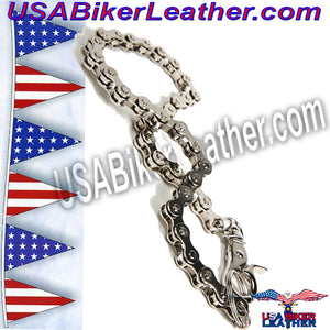 Wallet Chain / Add to Your Wallet / SKU USA-WTC5-DL - USA Biker Leather - 2