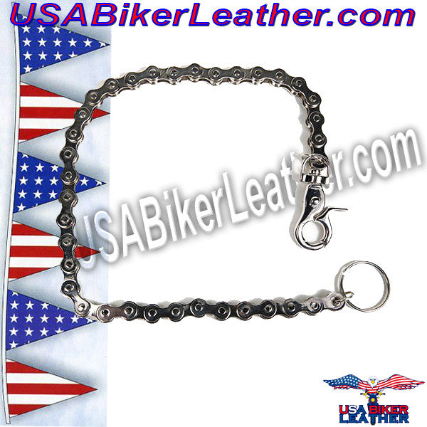 Wallet Chain / Add to Your Wallet / SKU USA-WTC5-DL - USA Biker Leather - 1