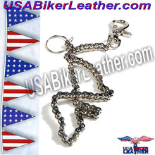 Wallet Chain 19 inches / SKU USA-WTC6-DL - USA Biker Leather - 2