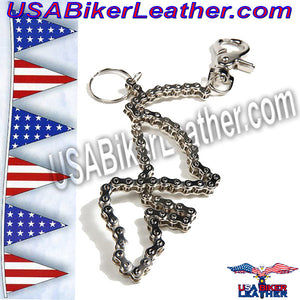 Wallet Chain 19 inches / SKU USA-WTC6-DL - USA Biker Leather