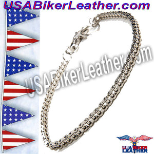 Wallet Chain 19 inches / SKU USA-WTC6-DL - USA Biker Leather - 3