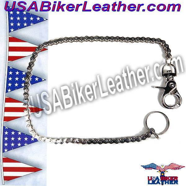 Wallet Chain 19 inches / SKU USA-WTC6-DL - USA Biker Leather - 1