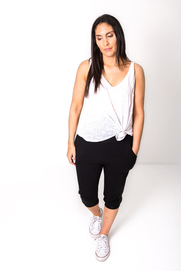 Photo of model wearing NOOZ 3/4 Lounge Pants