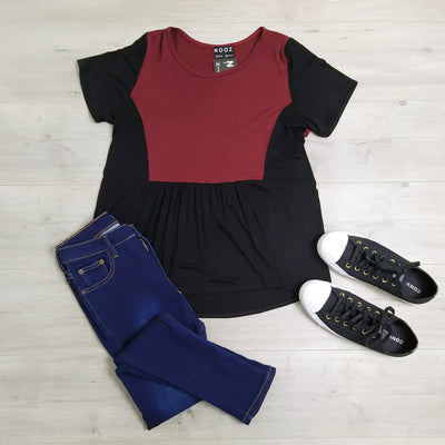 Contrast Hayley Swing Top