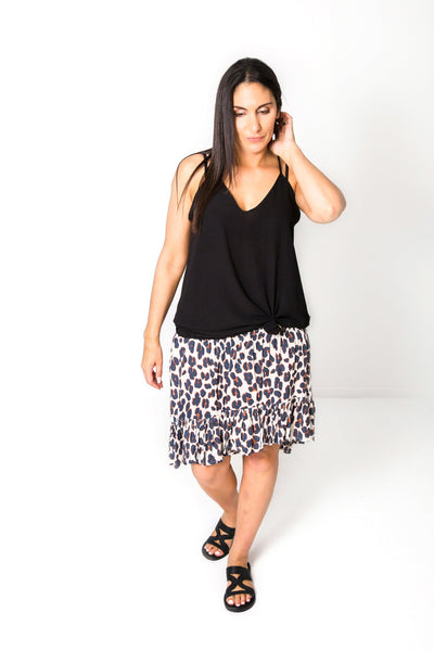 Short Francesca Skirt - Printed