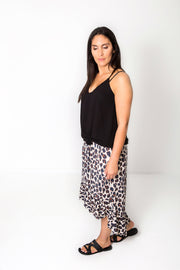 Long Animal Print Francesca Skirt