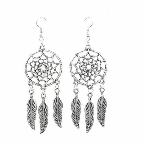 Dangly Dreamcatcher Earrings