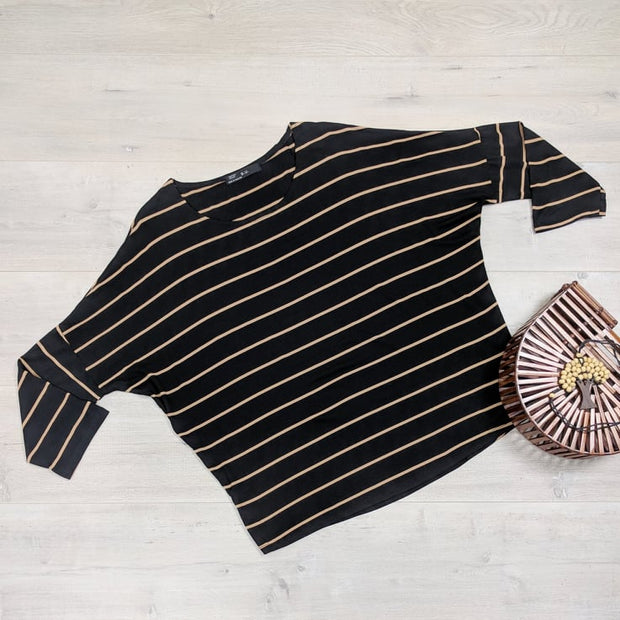 Thin Stripe Molly Tops