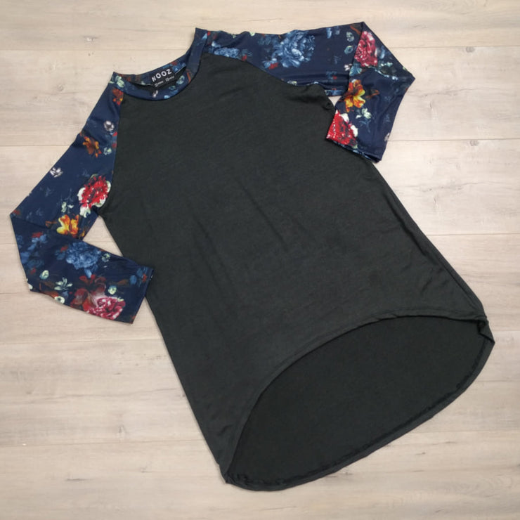 Floral Quinn Weekend Top