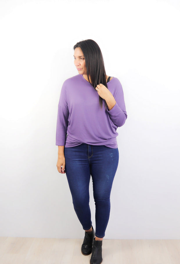 LS Candy Batwing Top