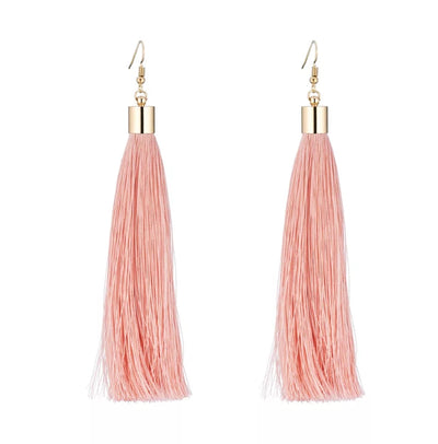 Champagne Tassel Earrings
