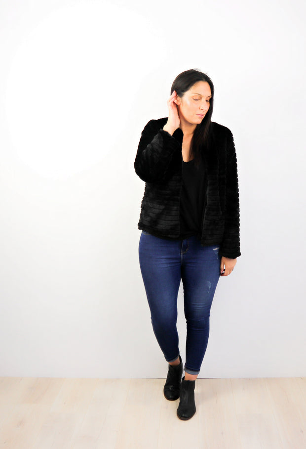 Faux Fur Shiloh Jacket