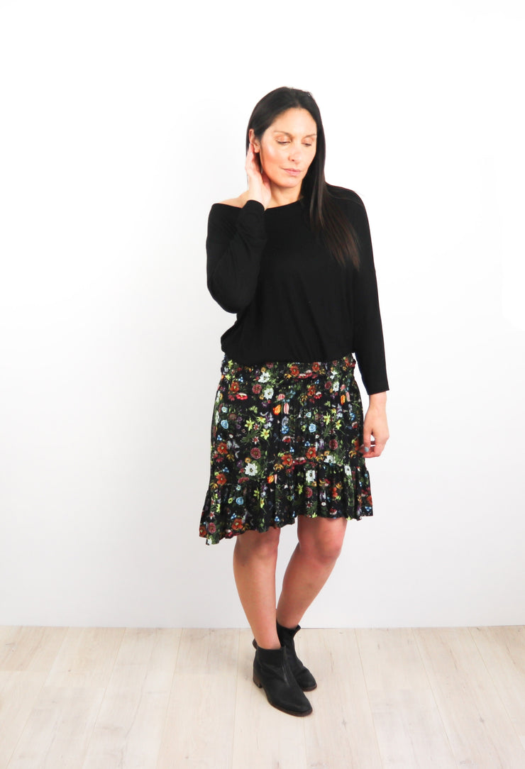 Short Francesca Skirt - Wild Daffodil