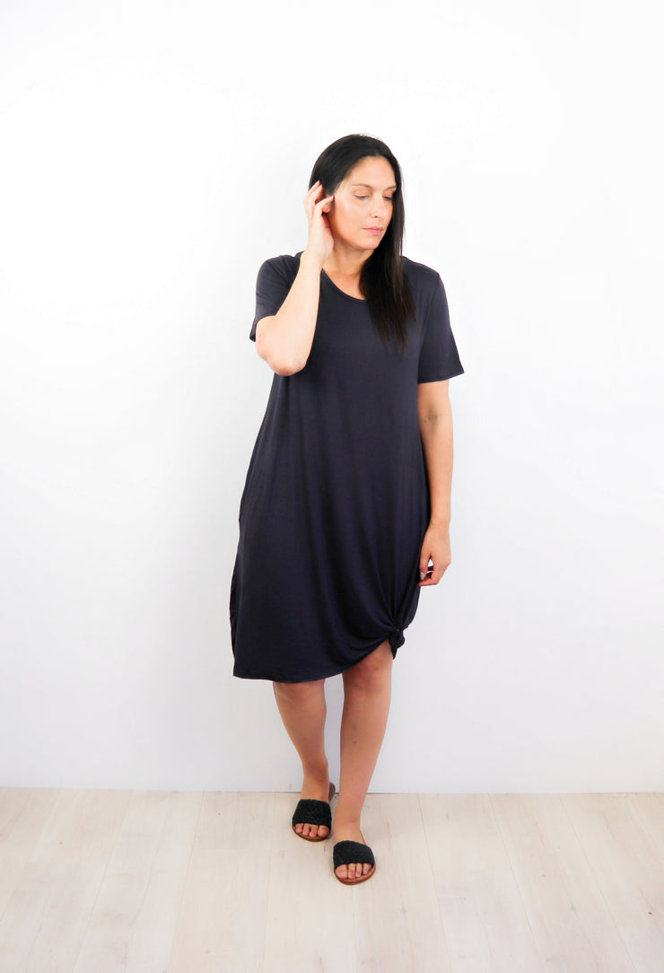 Weekender Pocket Dress - Grey