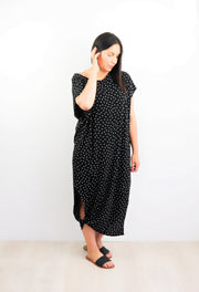 Small Polka Dot Many-Way Maxi