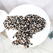 Light Animal Print Scarf