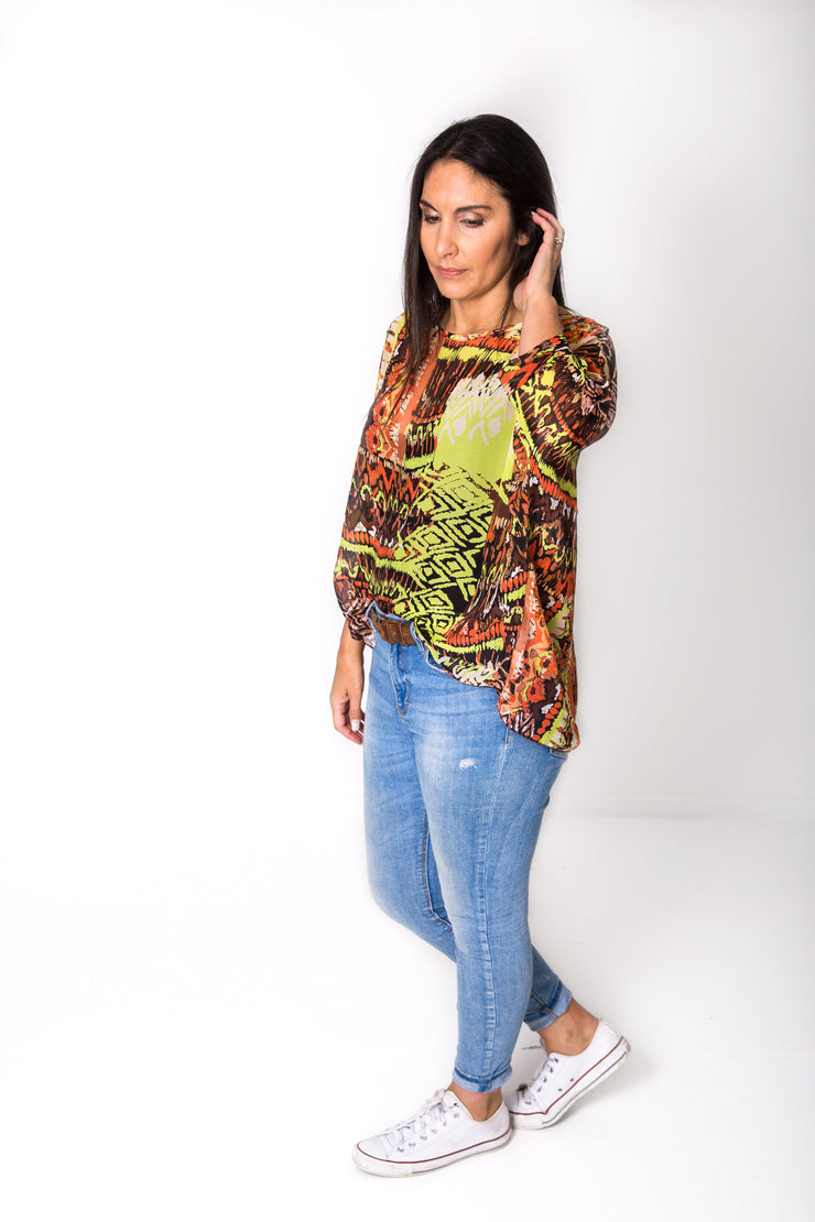 Tribal Love Draped Tops - Colourpop Collection