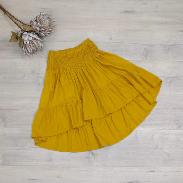 Short Francesca Skirt - Plain