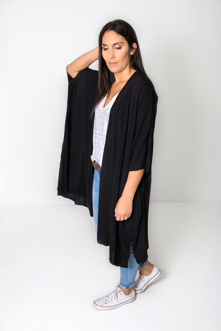 Black Stella Cape/Shrug