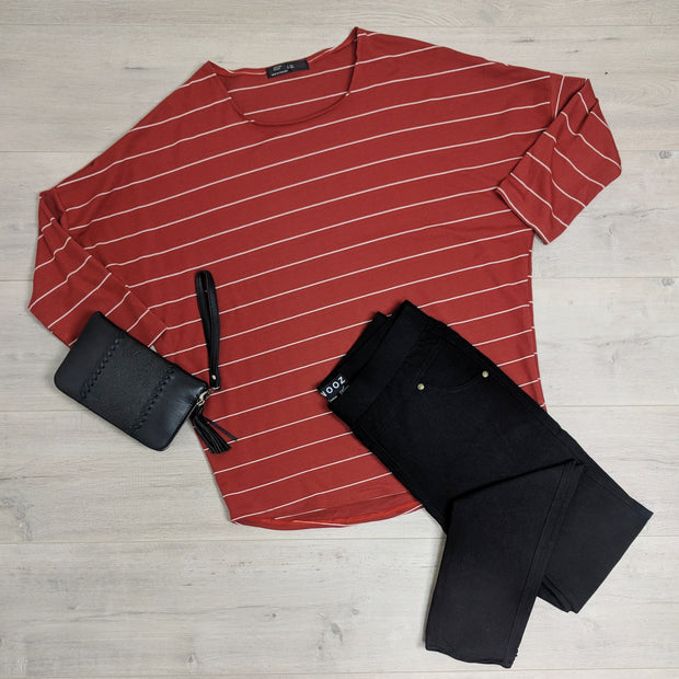 Modern Stripe Molly Tops
