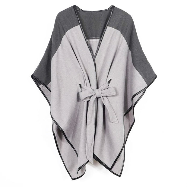 Grey Sydney Wrap Cape